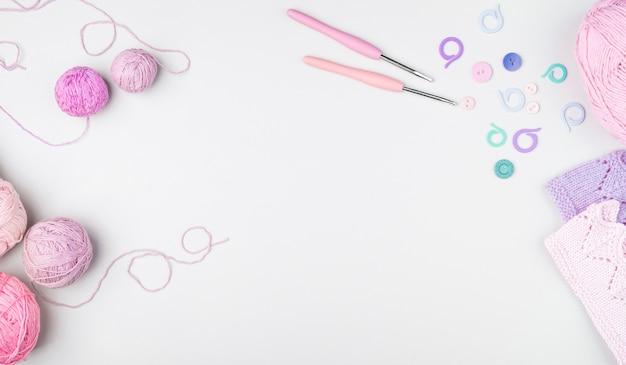Плоская планировка вязания крючком