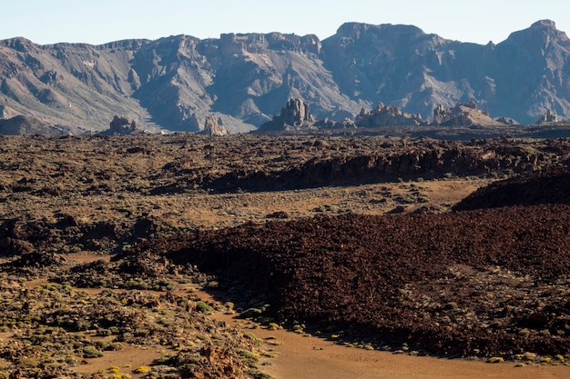 赤い地面と火山の救済
