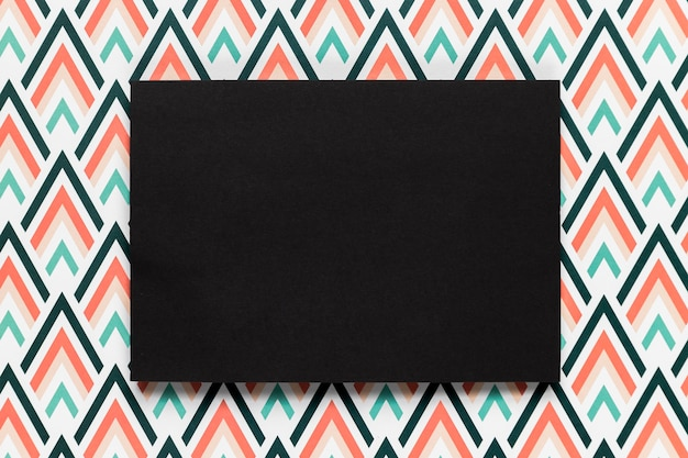 Черный конверт для свадебного приглашения