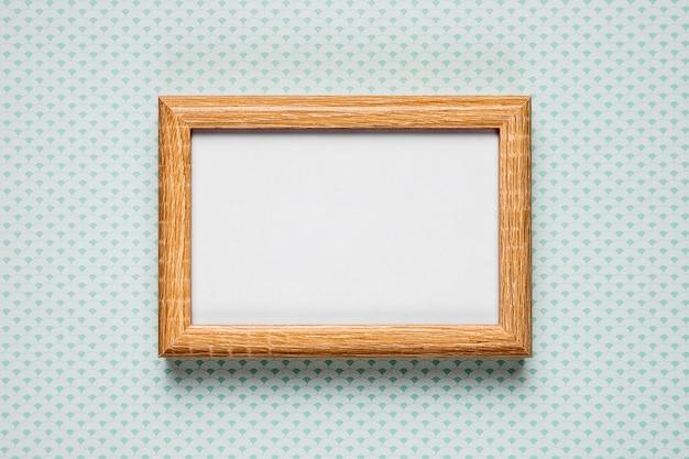 シンプルな背景の空白のフレーム