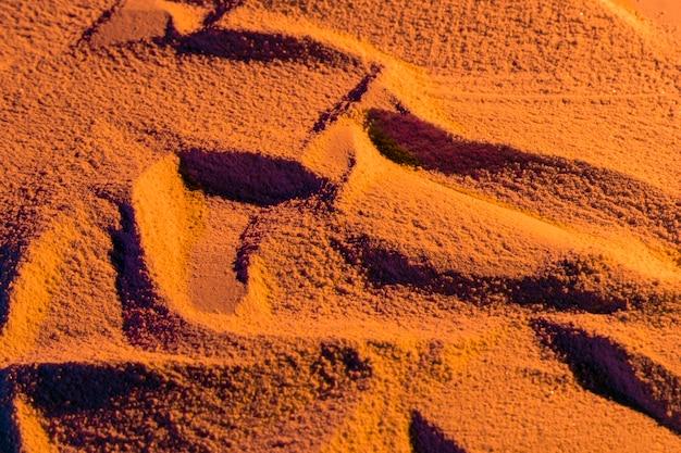 砂浜のランダムデザイン