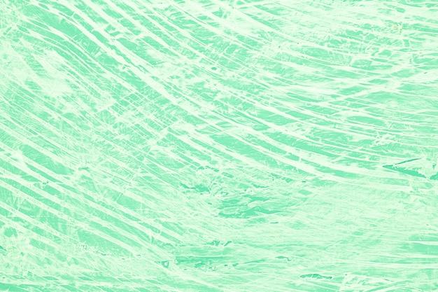 乱雑な緑塗装の背景