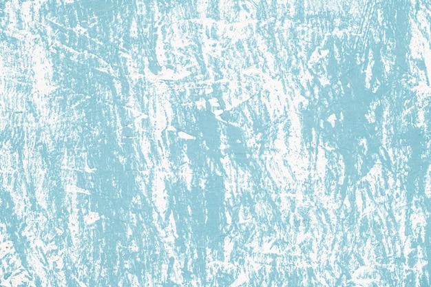 傷のある青いヴィンテージの壁