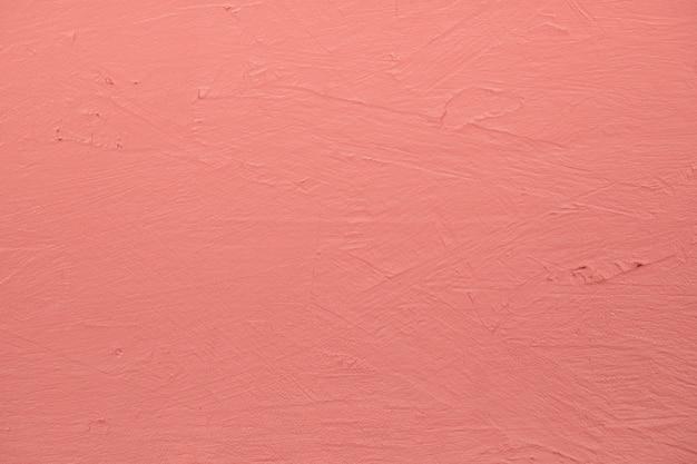 ピンク塗装のテクスチャ壁