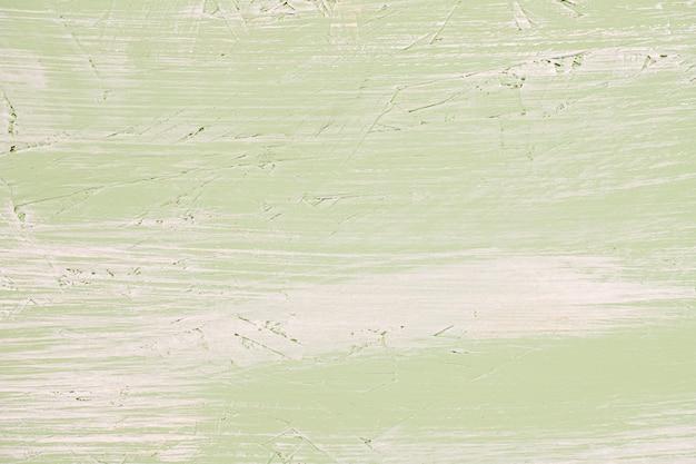 緑の塗られたヴィンテージの壁
