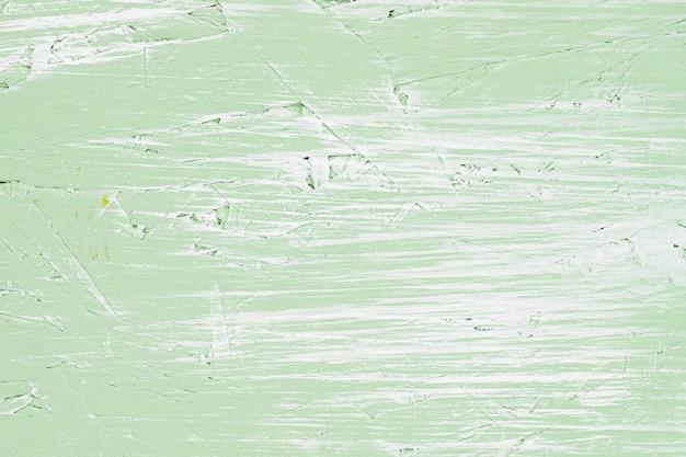薄緑色の塗られたヴィンテージの壁