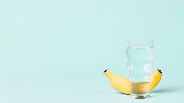 バナナと水でスペースをコピー