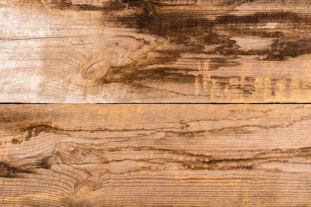 トップビュー木製の背景