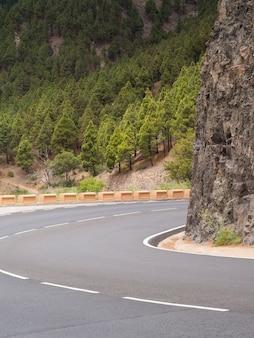 高速道路の右隅