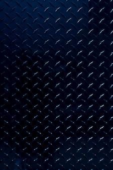 光沢のある青い金属パターンの背景