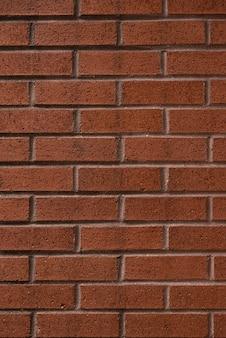 茶色のレンガ壁の背景