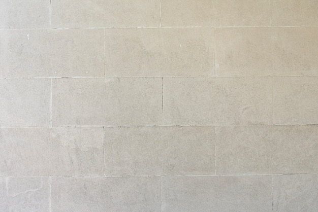 Стены из белого кирпича