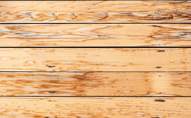 パターン化された木製の板壁の背景