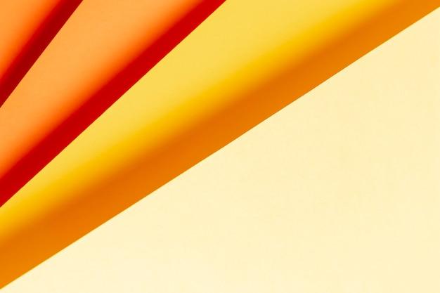 暖色系の色合いのパターン