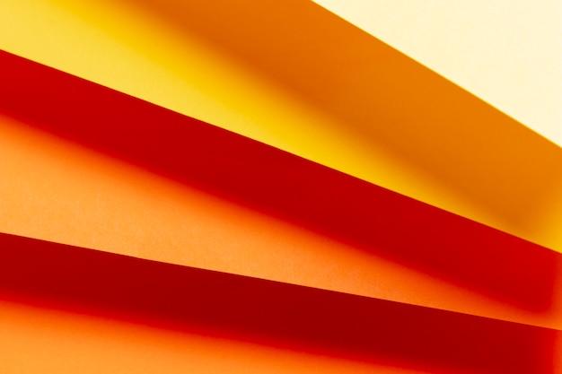 温かみのある色のクローズアップのさまざまな色合いで作られたパターン