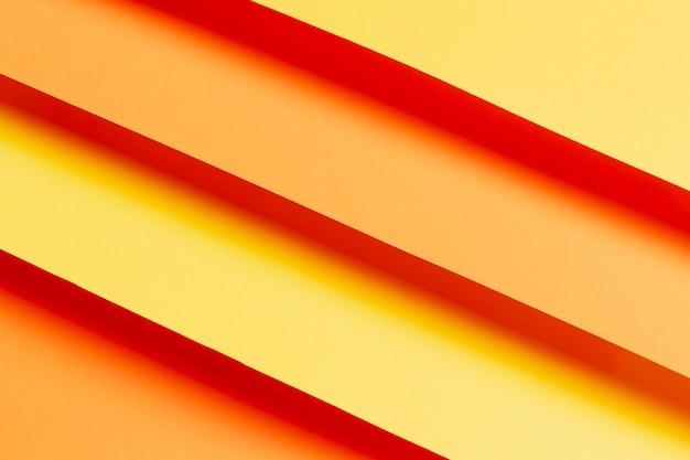 オレンジのさまざまな色合いで作られたパターン