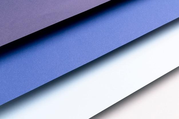 青のパターンのさまざまな色合い