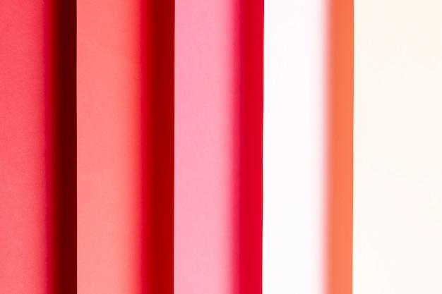 赤の色合いのパターン