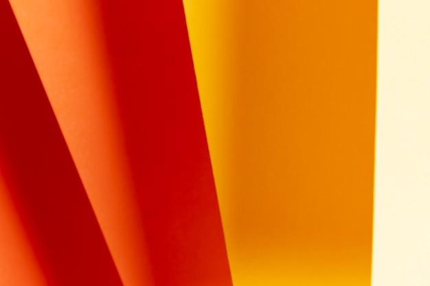 Оттенки оранжевого узора крупным планом