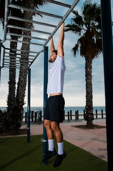 健康的なライフスタイルのトレーニングルーチン