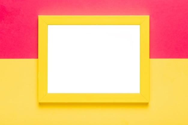 フレームモックアップを使用した平面図の配置