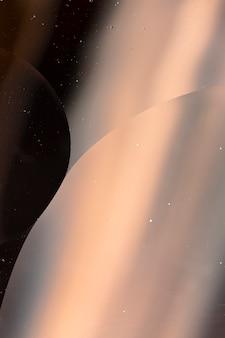Элегантный черный и розовый фон с прозрачным пузырем