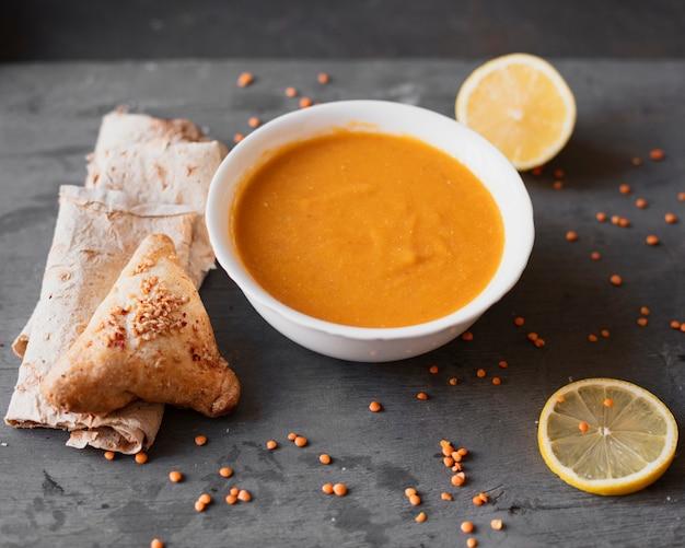 Вкусный индийский суп с лимоном