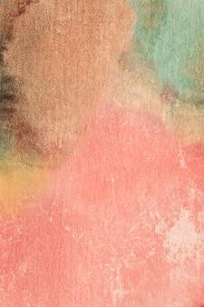 Винтажная градиентная розовая техника ручной работы акварель