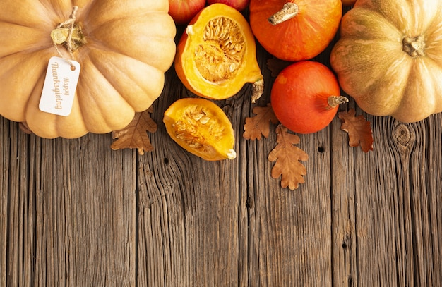 秋の収穫のビューフレームの上