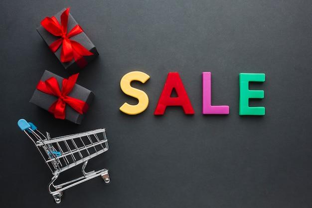 ショッピングカートの販売コンセプト