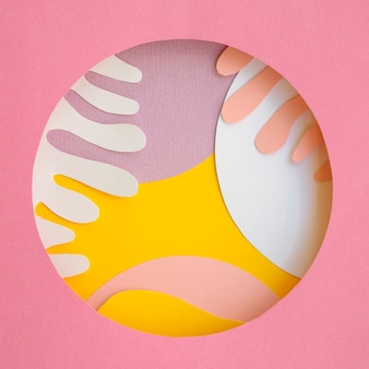 Абстрактный дизайн бумаги геометрического фона