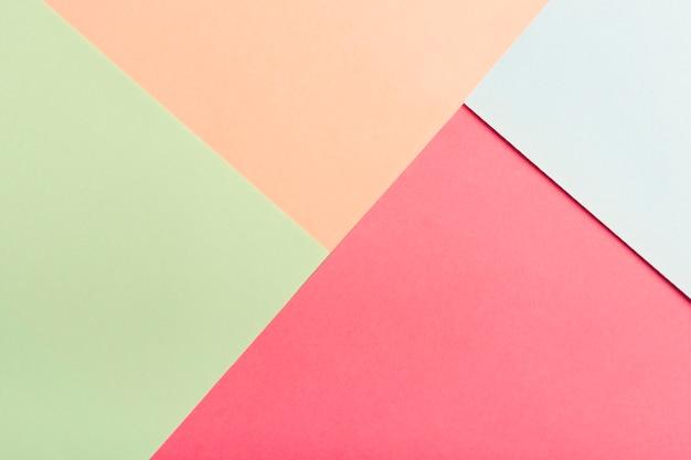Пакет пастельных картонных листов