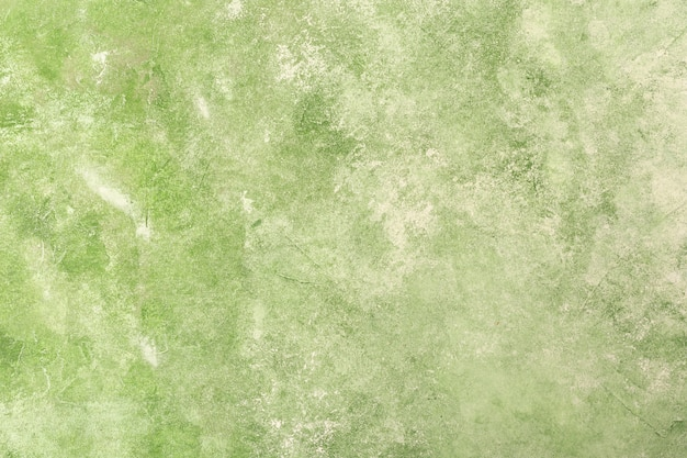 緑の質感の漆喰壁の背景