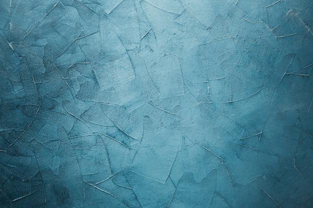 コピースペースでビネット大理石のテクスチャ背景と青