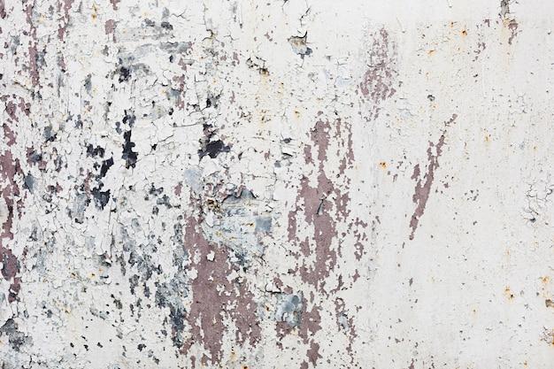 漆喰の白い壁の背景テクスチャ