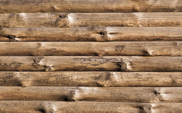木製の乾燥した木の幹の背景