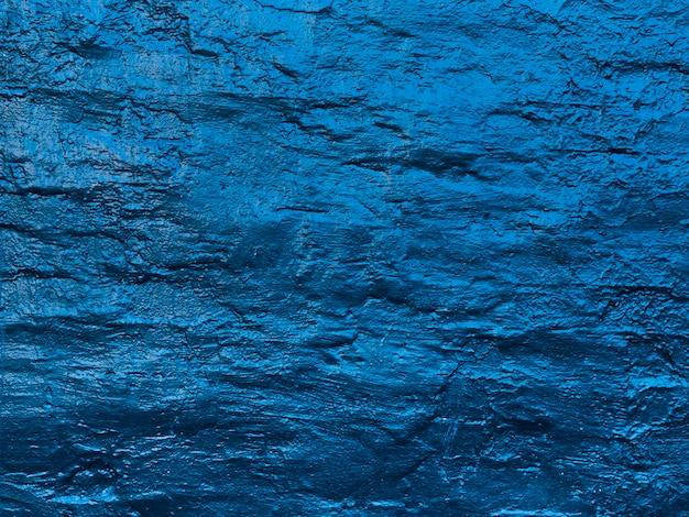 壁のテクスチャを描いた抽象的な水の波