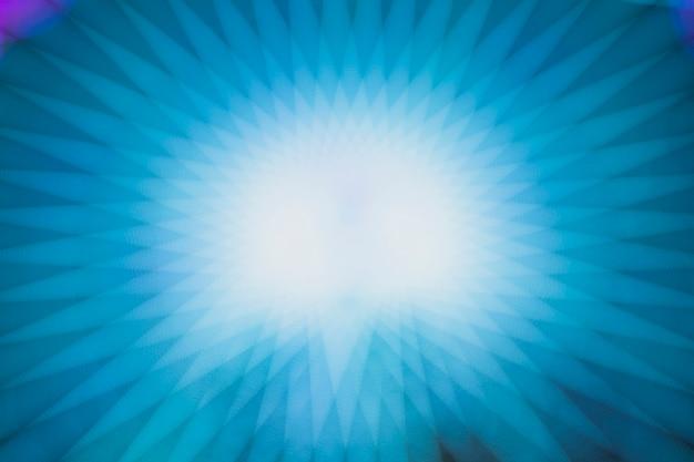 ぼかし効果を持つ青いネオン