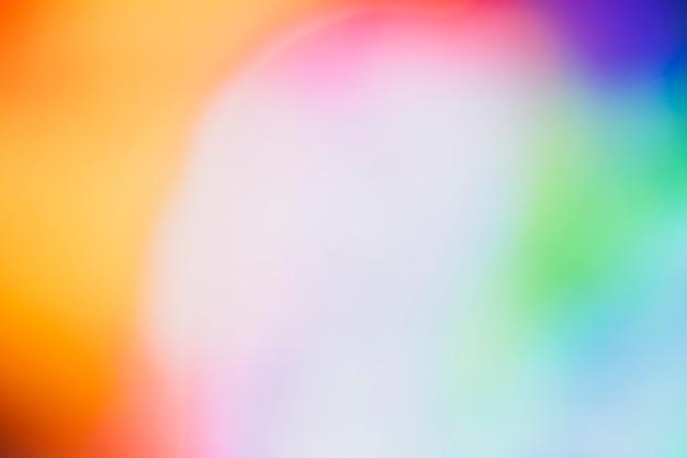 ネオンの空間のカラフルな背景をコピーします。
