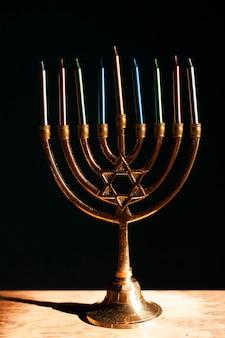 ユダヤ人ハヌカの燭台ホルダー
