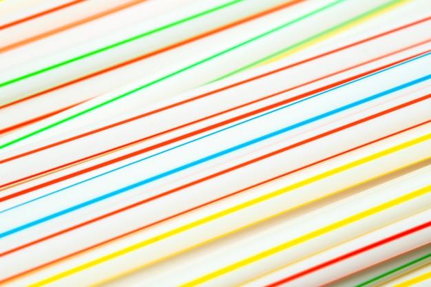 Коллекция соломинок с высоким углом смешанного цвета