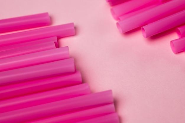 Высокий угол фиолетовый соломинки для питья