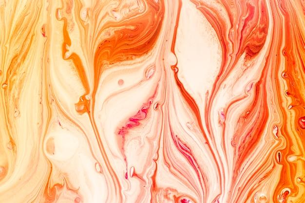ペイントの波の抽象的なミックス