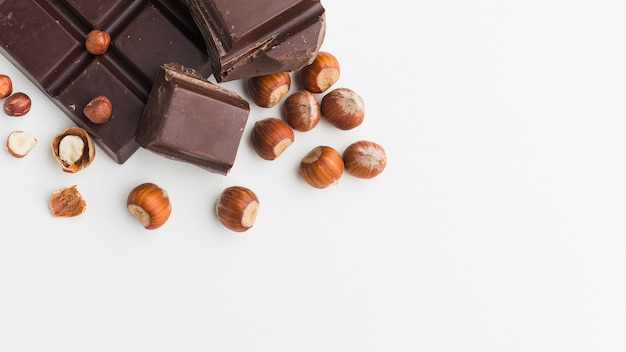 Шоколад с копией пространства