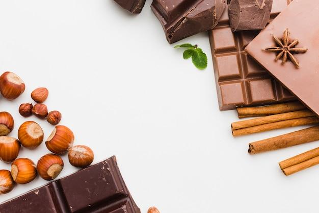 おいしいチョコレートの品揃えをクローズアップ