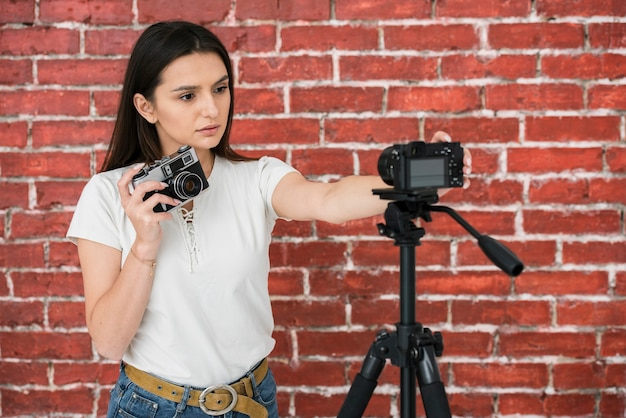Молодой блоггер готов к трансляции