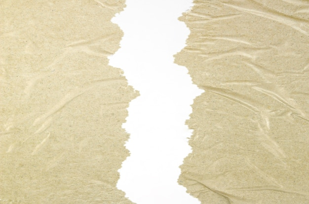 Крупный план скомканной текстуры