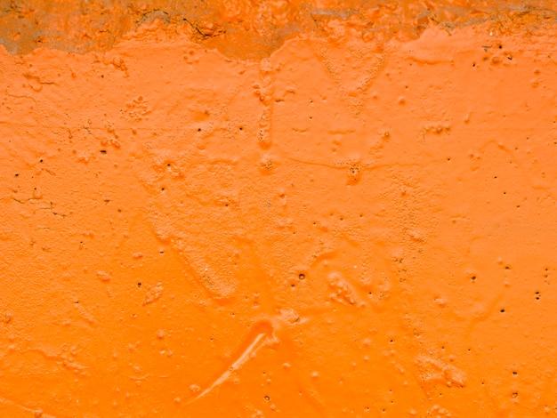 オレンジ色の塗装面