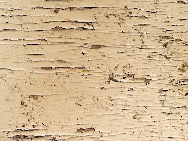 Крупный план шероховатой деревянной поверхности