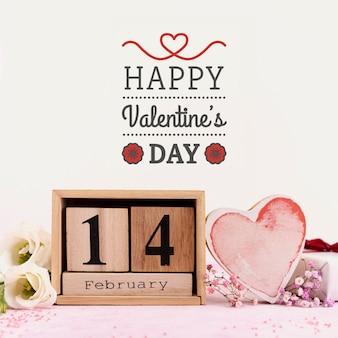 С днем святого валентина сообщение
